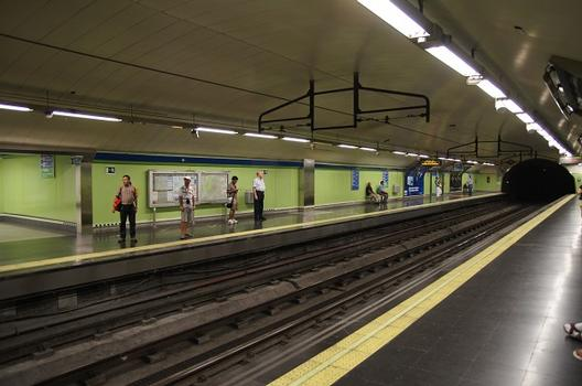 Station de métro Ópera