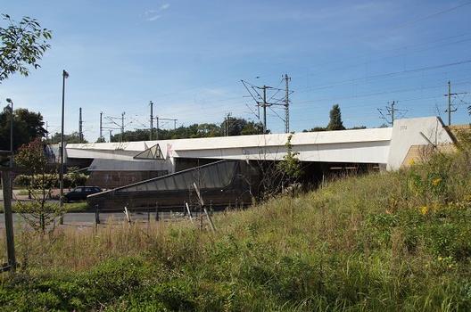 Eisenbahnüberführung über Sachsendamm und Autobahn A100