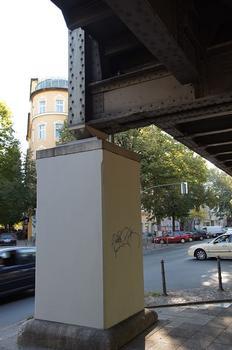 U 1 Subway Line (Berlin) – Hochbahnbrücke Wrangelstraße