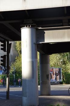 U 1 Subway Line (Berlin) – Hochbahnbrücke Wiener Straße