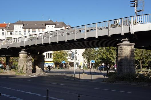 Hochbahnbrücke Lausitzer Platz