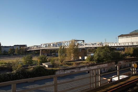Hochbahnbrücke Gleisdreieck (U 1)