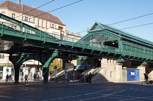 Hochbahnviadukt Eberswalder Straße