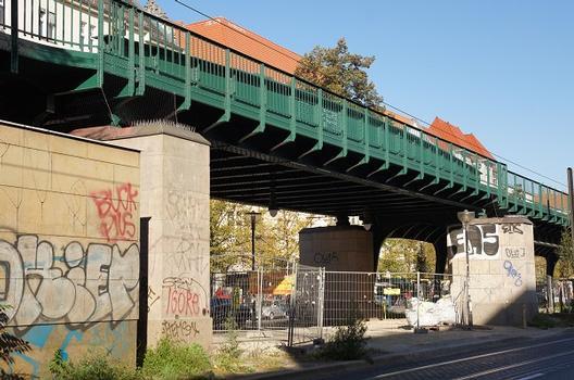 Hochbahnbrücke Buchholzer Straße