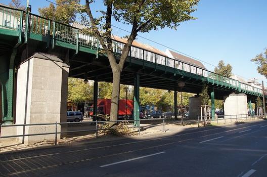 Hochbahnbrücke Rodenbergstraße