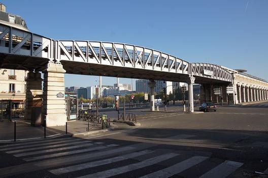Viaduc sur le Quai de la Gare
