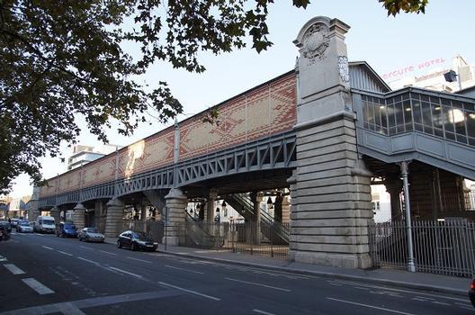 Metrobahnhof Quai de la Gare