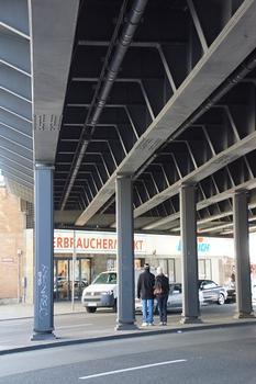 Passage supérieur ferroviaire sur la Kantstraße