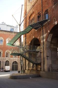 External Staircase of Palazzo della Ragione