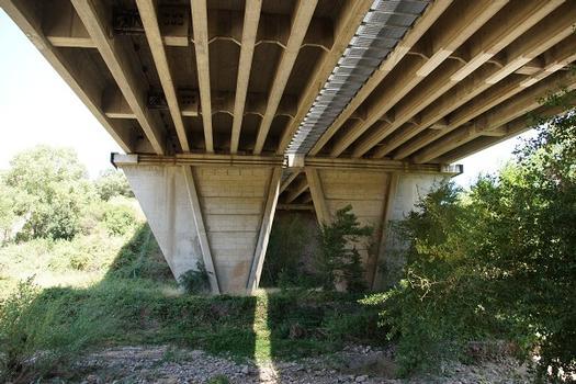 Pont autoroutier de Malpasset