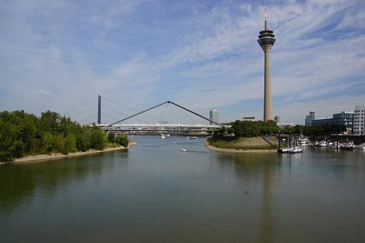 Pont du port de Düsseldorf