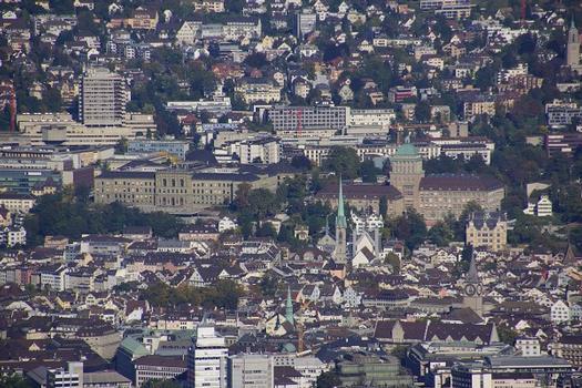 Bâtiment principal de l'Université de Zurich