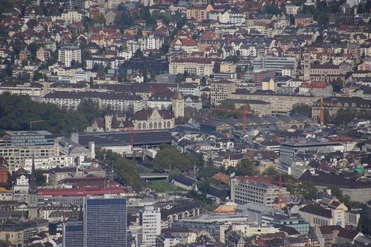Gare centrale de Zurich