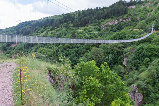 Hängebrücke Chndsoresk