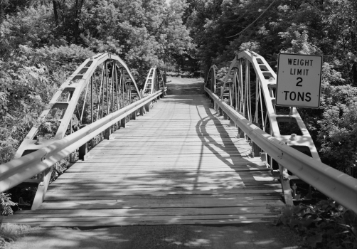 Shaw Bridge North portal, looking south-southwest.