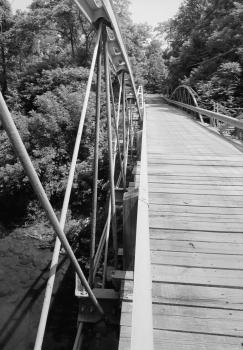 Shaw Bridge Underside of bridge from south side of creek.