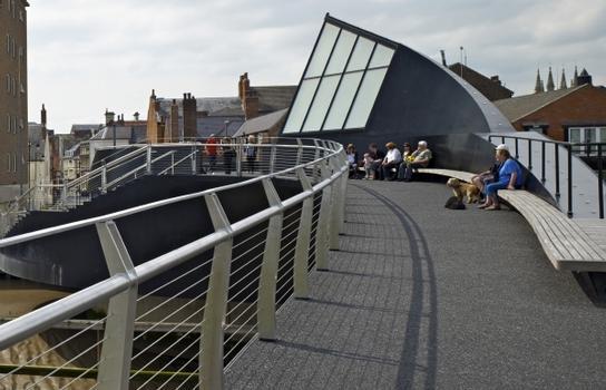 Scale Lane Swing Bridge