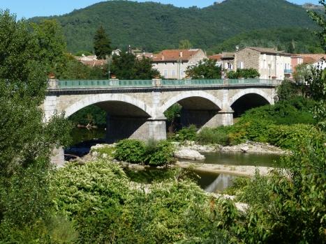 Eyrieuxbrücke Saint-Fortunat-sur-Eyrieux