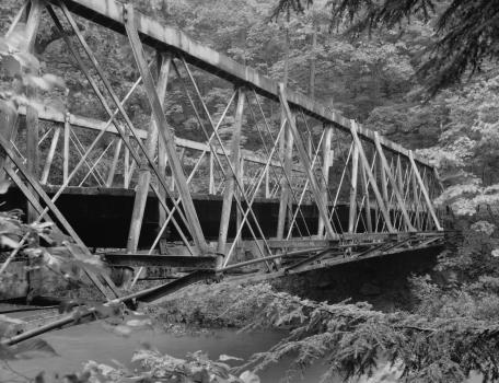 Falling Rock Camp Bridge