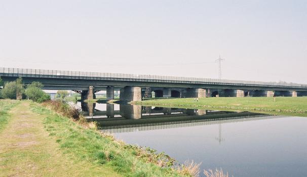 Autobahnbrücke Nr. 704 über die Ruhr (A3), Duisburg
