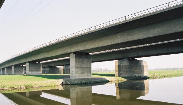 Neue Autobahnbrücke Nr. 704 über die Ruhr (A3), Duisburg