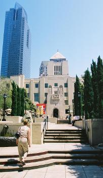 Central Library, Los Angeles. Gas Company Tower on left.