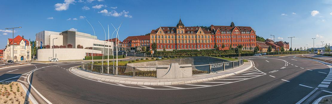 Fuß- und Radwegunterführung Aesculap-Platz