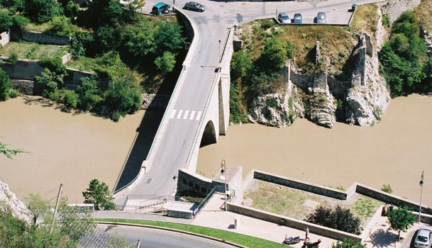 Pont sur la Durance, Sisteron