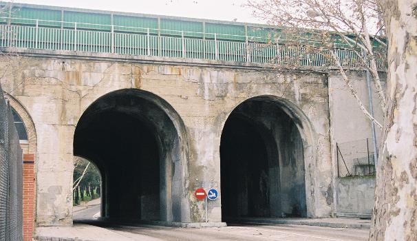 Viaducto de los Quince Ojos, Ciudad Universitaria, Madrid