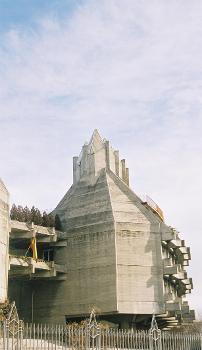 Edificio Circular (Instituto del Patrimonio de España), Madrid