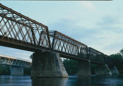 Northampton Lattice Truss Bridge