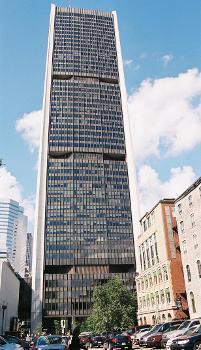 Tour de la Bourse, Montréal, Québec.