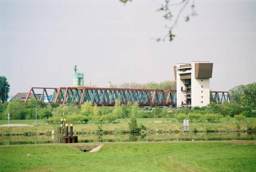 Brücken an der Kiffward, Duisburg