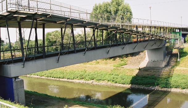 Tausendfüßlerbrücke, Oberhausen.
