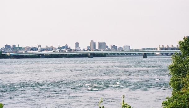 Pont de la Concorde, Montréal, Québec.