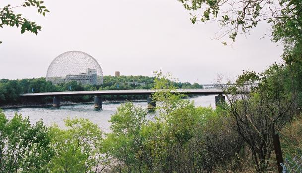 Pont du Cosmos & Biosphere, Montréal, Québec