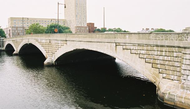 Western Avenue Bridge, Boston/Cambridge, Massachusetts.