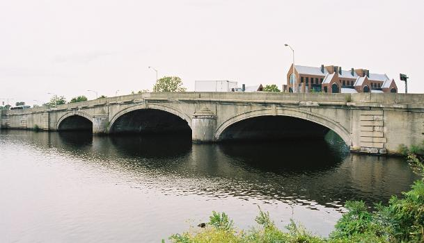 River Street Bridge, Boston/Cambridge, Massachusetts.