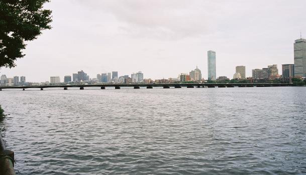 Harvard Bridge, Boston/Cambridge, Massachusetts