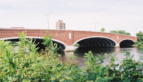 Elliot Bridge, Boston, Massachusetts.