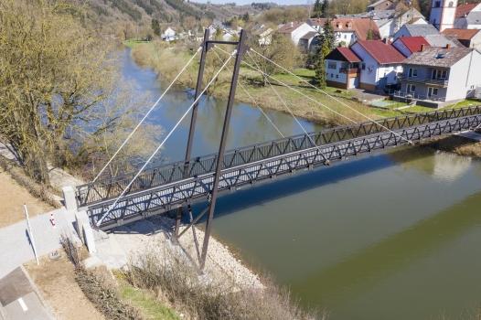Geh- und Radwegbrücke Metzdorf-Moesdorf