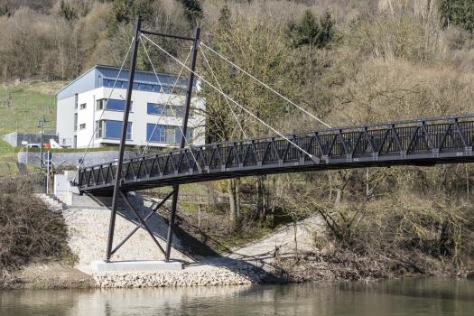 Passerelle de Metzdorf-Moesdorf