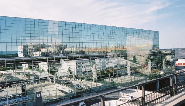 Terminal 2, Flughafen Frankfurt.