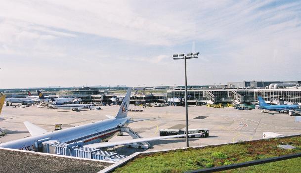 Terminal 1, Flughafen Frankfurt.
