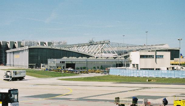 Wartungshalle 3, Flughafen Frankfurt.