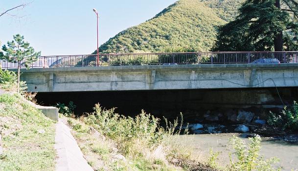Pont du Boulevard Gambetta, Digne-les-Bains