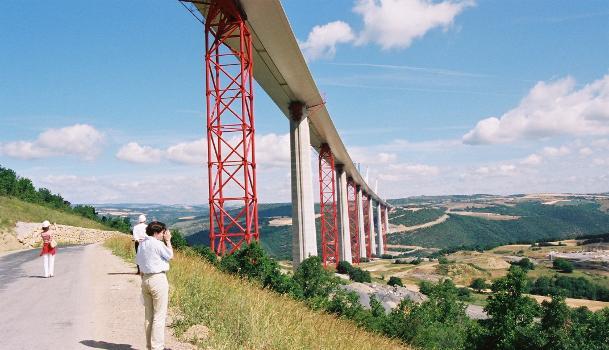 Autoroute A75 Viaduc de Millau