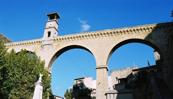 Aqueduc de l'Horloge, Saint-Chamas