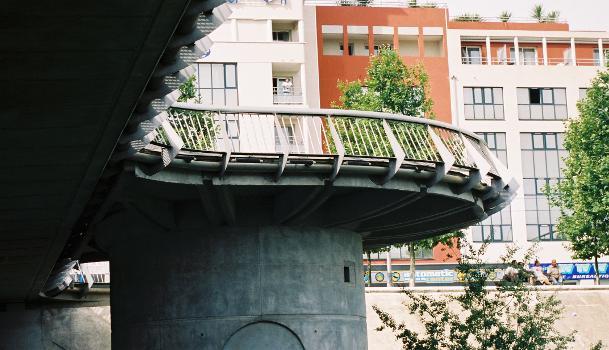 Pont Jean Zuccarelli, Montpellier