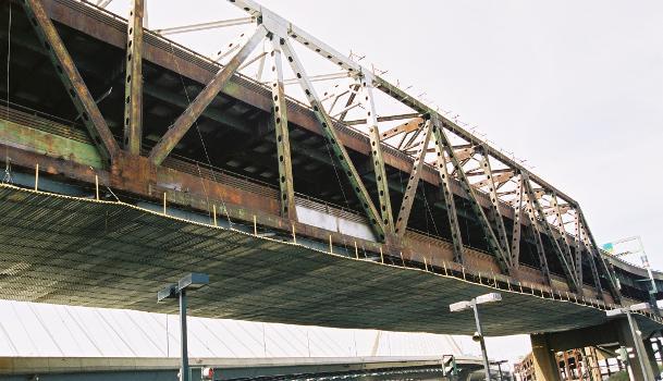 I-93 Charles River Bridge, Boston, Massachusetts